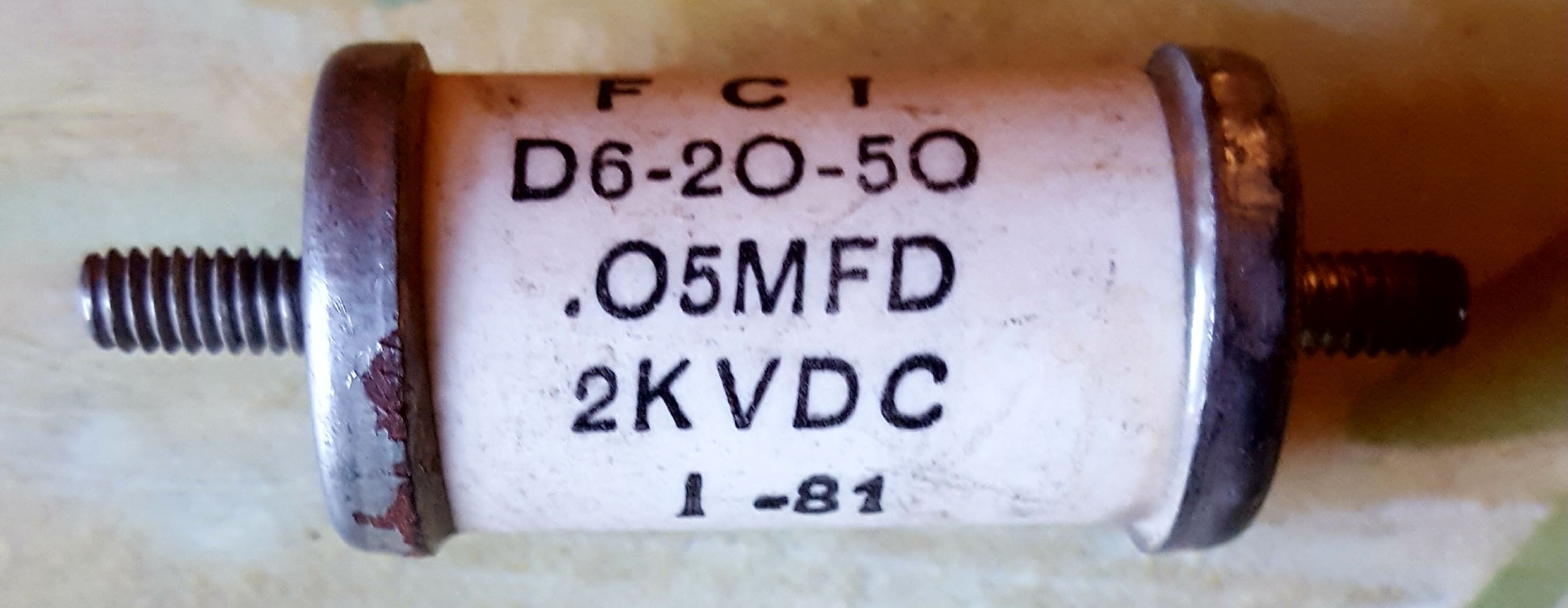 Various Capacitors for Sale - Ham Repair Guy - For All Your