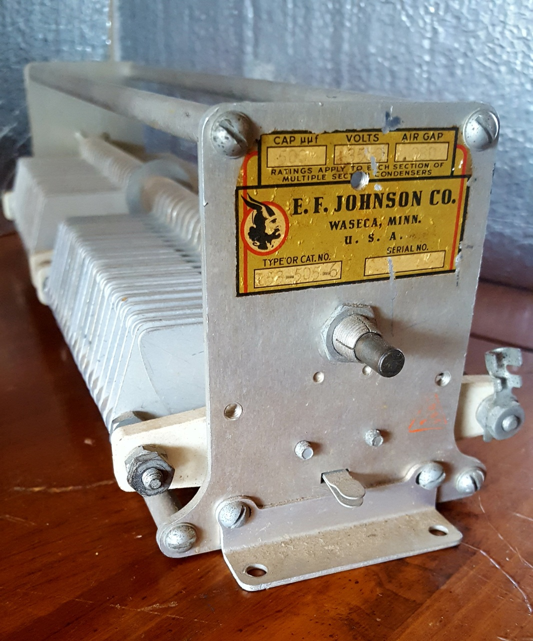 Air Variable Capacitors For Sale - Ham Repair Guy